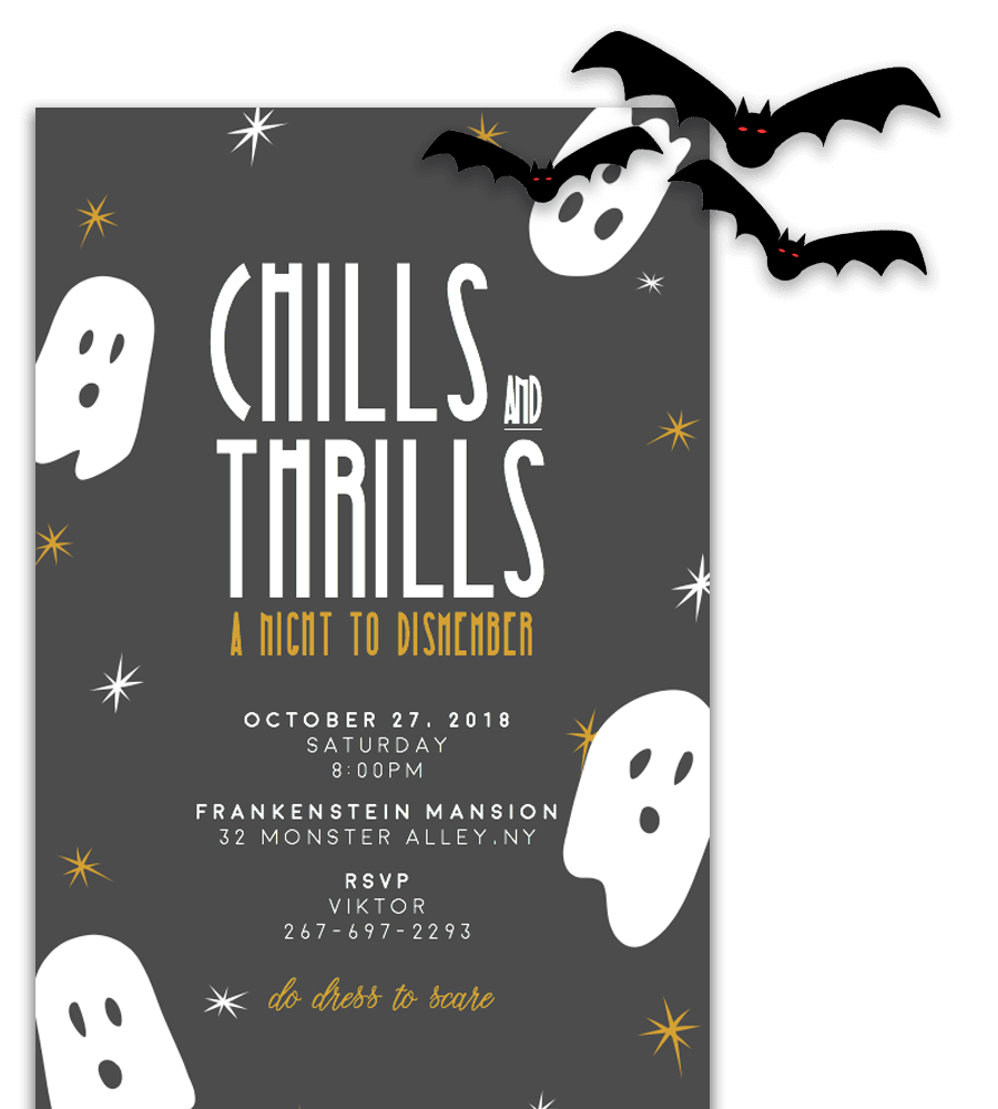 Free Printable Halloween Invitation Templates in Word – Free Printable Halloween Party Invitations Templates