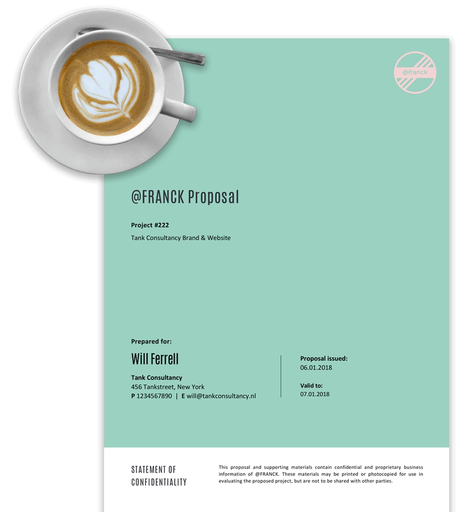 Business Project Proposal Templates For Word Free