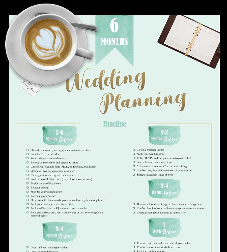 Wedding Planning Checklist Printable PDF and Excel – Wedding Planning Sites Free