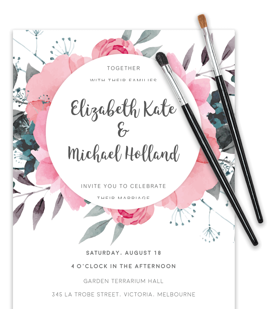 free word templates for wedding invitations