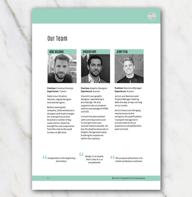Meet the team on page 3 of the project proposal